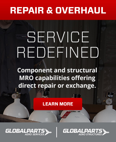 Component and structural MRO capabilities offering direct repair or exchange.